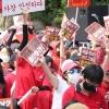 """김어준 """"여성집회, 달을 피묻은 식칼로 가리키면…"""" 과격 구호 지적"""