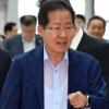 [서울포토] 출국하는 홍준표 전 대표