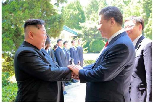 김정은·시진핑, 연이틀 만남 연합뉴스