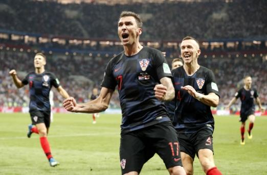 월드컵 결승에 진출한 크로아티아 [AP=연합뉴스]