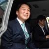 [서울포토] 안철수, 웃으며 '정치 휴지기 돌입'