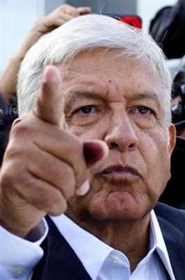 안드레스 마누엘 로페스 오브라도르 대통령 당선자. 로이터 연합뉴스