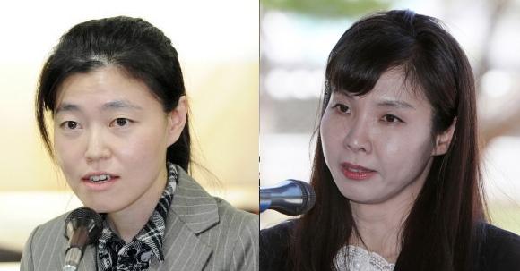 임은정(왼쪽) 검사와 서지현 검사. 서울신문DB