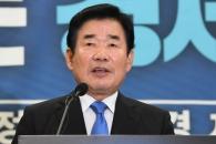 [서울포토] 김진표, 민주당 당대표 출마 선언