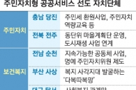 서울 금천구·세종시 등 '주민자치 공공서비스' 선도