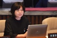 [서울포토] 침울한 이정미 정의당 대표