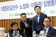 국회 인사청문특위, 김선수 청문보고서 채택…한국당 …