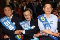 민주 당대표 선거, 이해찬·김진표·송영길 3파전으로…