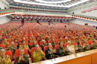 北, 3년만에 연 전국노병대회서 결속 강조…대미 비난…