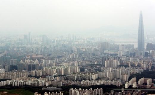 서울 아파트 밀집지역의 모습. 연합뉴스 자료사진