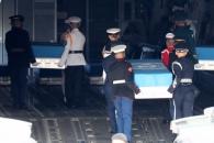 """미군 유해 55구 하와이로… 美국방부 """"유해, 미군 전…"""