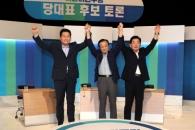 """""""DJ와 인연·일자리""""… 민주 당권주자 호남 민심잡기…"""