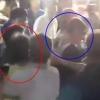 김경수 뒷덜미 폭행한 50대 남성, 현장영상 보니…