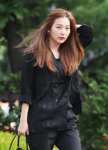 레드벨벳 슬기, 아침에도 '예쁨'