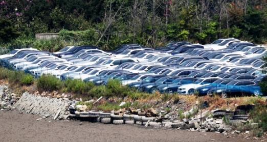 BMW 리콜 대상 차량들