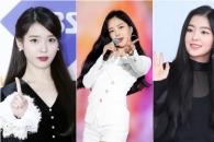 아이유 손나은 아이린, 8월 여자 광고모델 브랜드 평판 TOP3