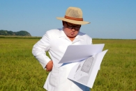 김정은, 한달 전 찾은 함경북도 온실농장 부지 또 시찰…