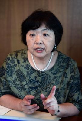 소설가 와카타케 지사코