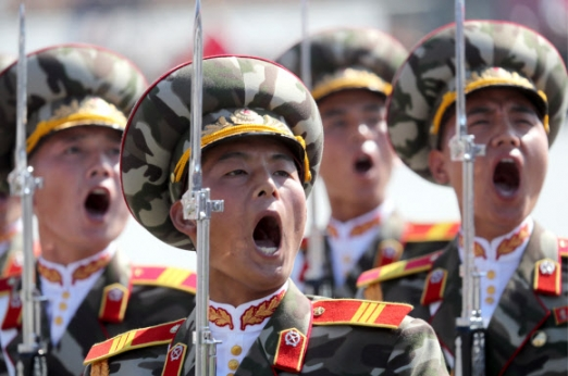 Pyongyang military parade marks 70th anniversary of foundation of North Korea