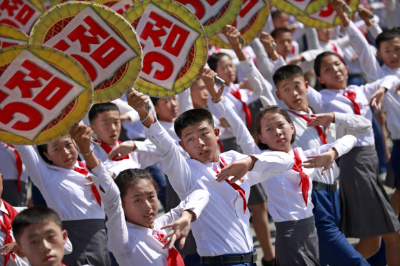 North Korea National Day and 70th anniversary of its Foundation parade