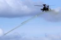 [포토] '사격하는' 아파치 헬기