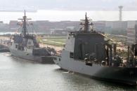최대 군수지원함 소양함 취역