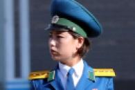 [서울포토] 평양의 여성 교통안전요원