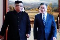[포토] '남북 정상회담' 문 대통령 숙소 백화원 방문…