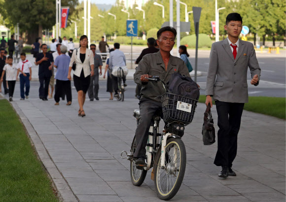 Everyday life in Pyongyang, North Korea