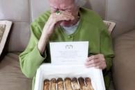 68년전 가족과 생이별 94세 할머니, 北서 온 송이버섯…