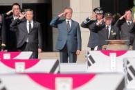 [서울포토] 문재인 대통령, '국군의 날 70주년' 유해…