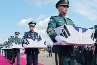 [서울포토] 국군의 날 70주년에 열린 유해 봉환식