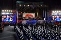 '워리어' 군인 전투 시연·블랙이글스 야간 비행… …