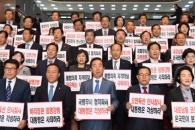 [서울포토] 자유한국당, 유은혜 임명 규탄 시위
