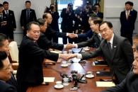 """北리선권 """"오늘 회담 평화번영 기여할 것""""…남북고위…"""