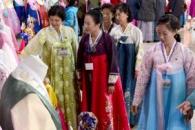 [포토] 곱고 화사한 북한의 한복들