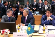 [포토] ASEM 정상회의 참석한 문 대통령