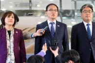 남북산림회담 전체회의 이어 잇단 대표접촉…공동방제…