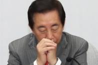 [서울포토] 생각에 잠긴 김성태 원내대표