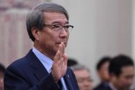 [서울포토] 선서하는 정운찬 KBO 총재