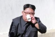 [포토] 김정은, 온천 건설현장 방문…'따뜻한 온천수…