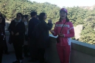 [포토] 금강산 삼일포 관광 안내원