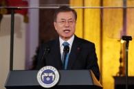 """문대통령 """"평화로 인권 보장…인권 무시하면 야만 역…"""