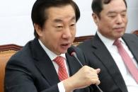 """김성태 """"얼마나 죽어야 하나…적폐청산 이름의 정치보…"""