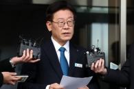 [포토] 검찰 기소 결정 후 입장 밝히는 이재명 경기지…