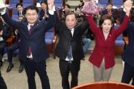 한국당 새 원내대표에 나경원…정책위의장은 정용기