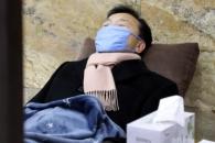 [포토] 단식농성 9일째… 휴식 취하는 손학규 대표