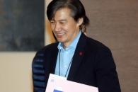 [서울포토] 수석ㆍ보좌관회의 참석하는 조국 민정수석
