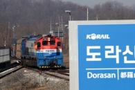 [포토] 남북 철도공동조사를 마친 후 돌아오는 열차