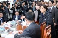 """국회 찾은 김용균씨 어머니 """"법 통과 안되면 우리 아…"""